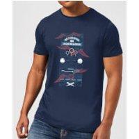 Harry Potter Quidditch At Hogwarts Men's T-Shirt - Navy - M - Navy