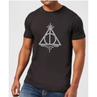 Harry Potter Deathly Hallows Men's T-Shirt - Black - M - Black