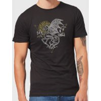 Harry Potter Thestral Men's T-Shirt - Black - XXL - Black