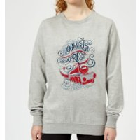 Harry Potter Hogwarts Express Womens Sweatshirt - Grey - XL - Grey