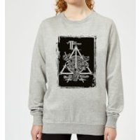 Harry Potter Three Brothers Women's Sweatshirt - Grey - 4XL - Grey