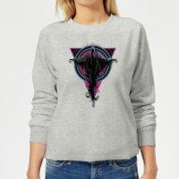 Harry Potter Dementor Neon Women's Sweatshirt - Grey - L - Grey