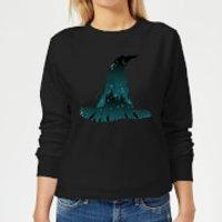 Harry Potter Sorting Hat Silhouette Women's Sweatshirt - Black - S - Black
