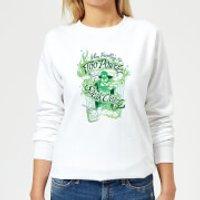 Harry Potter Floo Powder Women's Sweatshirt - White - XL - White