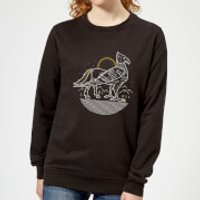 Harry Potter Buckbeak Women's Sweatshirt - Black - XS - Black