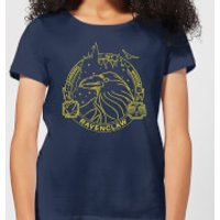 Harry Potter Ravenclaw Raven Badge Women's T-Shirt - Navy - M - Navy