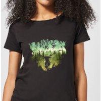 Harry Potter Patronus Lake Women's T-Shirt - Black - M - Negro