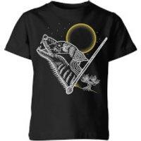 Harry Potter Lupin Kids' T-Shirt - Black - 3-4 años - Negro