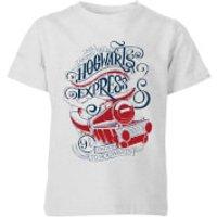 Harry Potter Hogwarts Express Kids T-Shirt - Grey - 5-6 Years - Grey