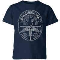 Harry Potter Dumblerdore's Army Kids' T-Shirt - Navy - 11-12 Years - Navy - Army Gifts