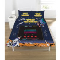Space Invaders Coin-Op Duvet Set - Double - Multi