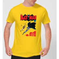 Batman Batman Issue Number One Men's T-Shirt - Yellow - XXL - Yellow