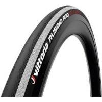 Vittoria Rubino Pro IV G2.0 Road Tyre - 700x25mm - Black/White