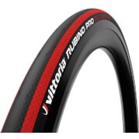 Vittoria Rubino Pro IV G2.0 Road Tyre - 700x25mm - Black/Red