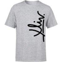 How Ridiculous XLIV Script Vertical Men's T-Shirt - Grey - M - Grey