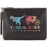 Coach Women's Rexy and Carriage Large Wristlet 30 Bag - Black Multi