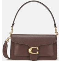 shop for Coach Women's Mixed Leather Tabby Shoulder Bag 26 - Oxblood at Shopo