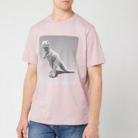 Coach Men's Rexy by Sui Jianguo T-Shirt - Pink Champagne - L