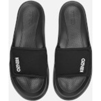 KENZO Men's Logo Pool Slide Sandals - Black - FR 42/UK 8
