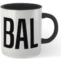 Bald Mug - White/Black