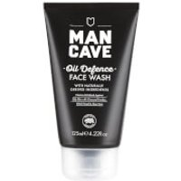 ManCave Oil Defence Face Wash 125ml