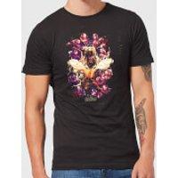 Avengers Endgame Splatter Men's T-Shirt - Black - M - Black