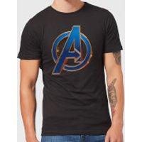 Avengers Endgame Heroic Logo Men's T-Shirt - Black - S - Black