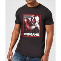 Avengers Endgame Ant-Man Poster Men's T-Shirt - Black - S - Black