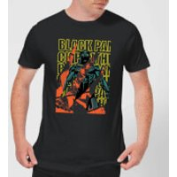 Marvel Avengers Black Panther Collage Men's T-Shirt - Black - L - Black