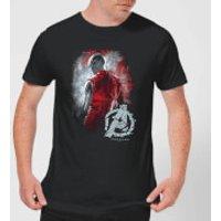 Avengers Endgame Nebula Brushed Men's T-Shirt - Black - 4XL - Black