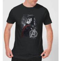 Avengers Endgame Thor Brushed Men's T-Shirt - Black - L - Black
