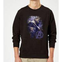 Avengers Endgame Thanos Brushed Sweatshirt - Black - M - Black