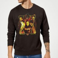 Avengers Endgame Distressed Sunburst Sweatshirt - Black - XXL - Black