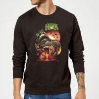 Marvel Incredible Hulk Dead Like Me Sweatshirt - Black - XL - Black
