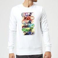 Image of Avengers Endgame Original Heroes Sweatshirt - White - XXL - White