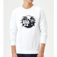 Captain Marvel Fury And Coulson S.H.I.E.L.D. Sweatshirt - White - L - White