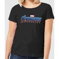 Avengers Endgame Logo Women's T-Shirt - Black - L - Black