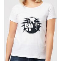 Captain Marvel Fury And Coulson S.H.I.E.L.D. Women's T-Shirt - White - 4XL - White