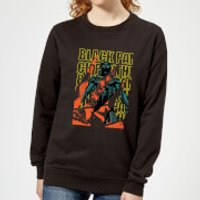 Marvel Avengers Black Panther Collage Women's Sweatshirt - Black - L - Black
