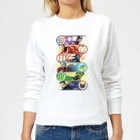 Avengers Endgame Original Heroes Women's Sweatshirt - White - M - White