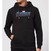 Avengers Endgame Logo Hoodie - Black - XL - Black