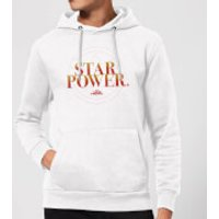 Captain Marvel Star Power Hoodie - White - M - White