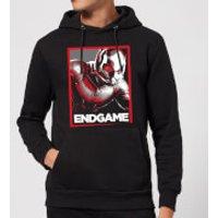 Avengers Endgame Ant-Man Poster Hoodie - Black - S - Black