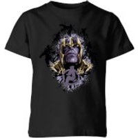 Avengers Endgame Warlord Thanos Kids' T-Shirt - Black - 5-6 Years - Black