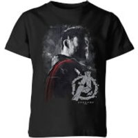 Avengers Endgame Thor Brushed Kids' T-Shirt - Black - 5-6 Years - Black