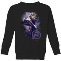 Avengers Endgame Thanos Brushed Kids' Sweatshirt - Black - 3-4 Years - Black