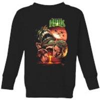 Marvel Incredible Hulk Dead Like Me Kids' Sweatshirt - Black - 11-12 Years - Black