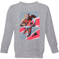 Marvel Avengers AntMan And Wasp Collage Kids' Sweatshirt - Grey - 3-4 Years - Grey - Marvel Gifts