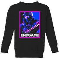 Avengers Endgame Ronin Poster Kids' Sweatshirt - Black - 11-12 Years - Black
