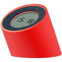 Gingko Edge Light Alarm Clock - Red - Alarm Clock Gifts